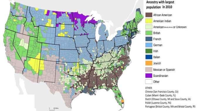 ABDnin etnik yapısı nedir?