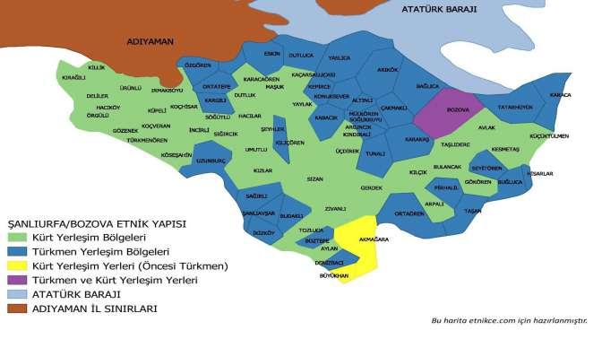 Bozova'nın etnik yapısı