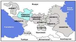 Kafkaslarda bir Türk Cumhuriyeti. Karaçay-Çerkesya.
